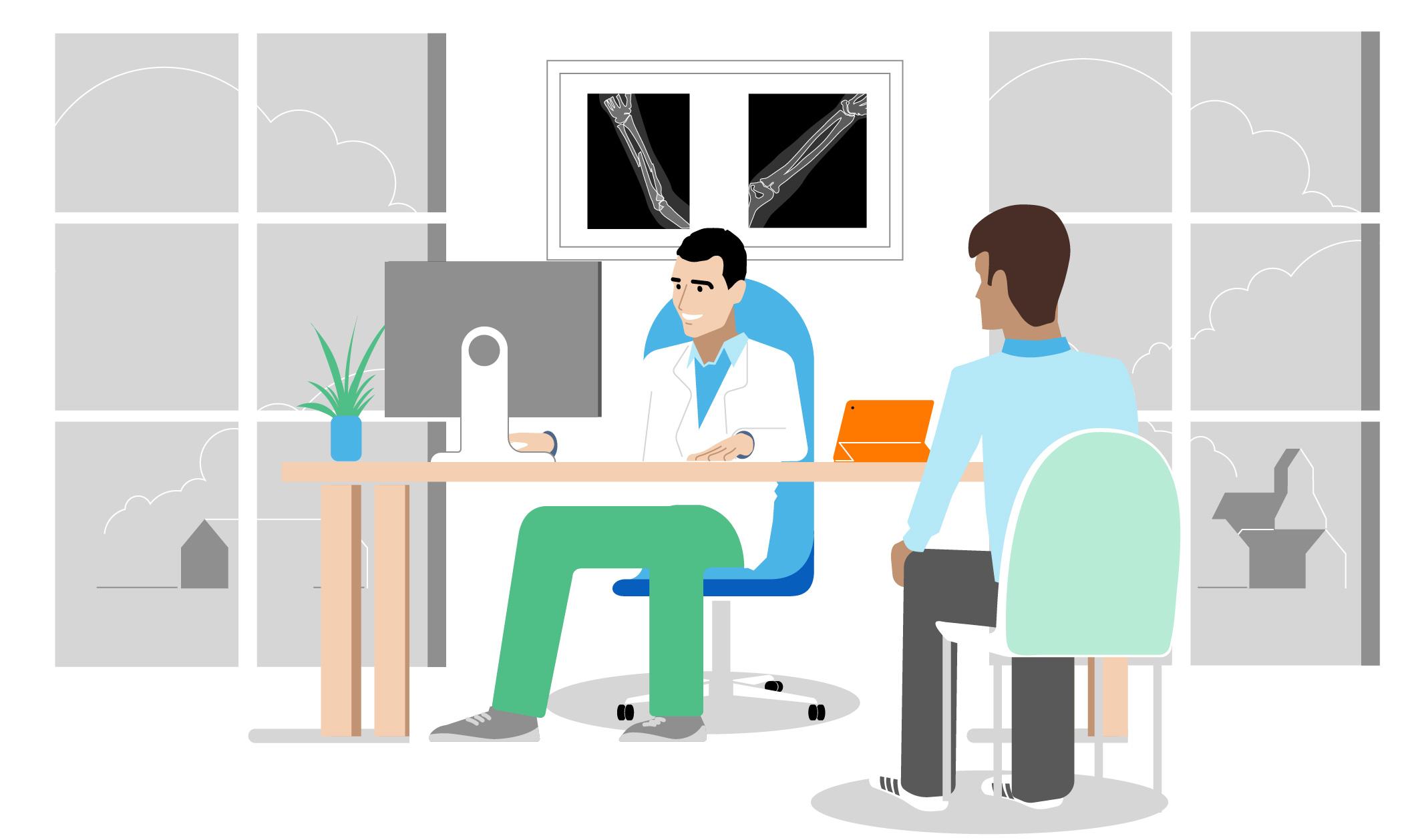 Illustration: Cabinet de médecin